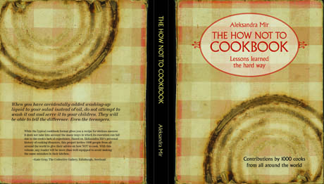 the how not to cookbook cover