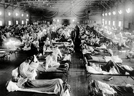 Sick War 1918 Spanish Flu