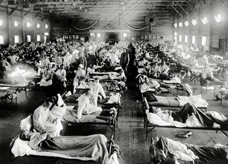 Sick War 1918 Spanish Flu
