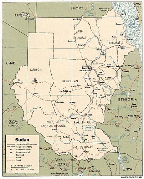 Sudan Egypt Border