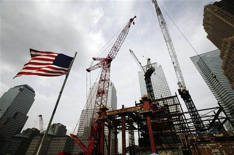 attacks redevelopment, changing nyc, ground zero, sept 11, 9/11, construction, 1 World Trade Center