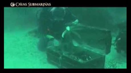 cavas submarinas dive video 2