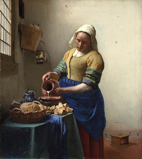 vermeer milkmaid