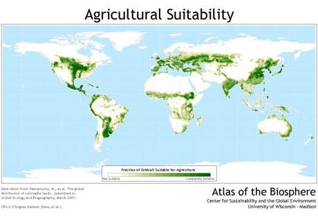 SixtySix Percent Natural - Argentina agriculture map