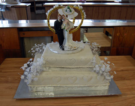Traditional Mexican wedding cake
