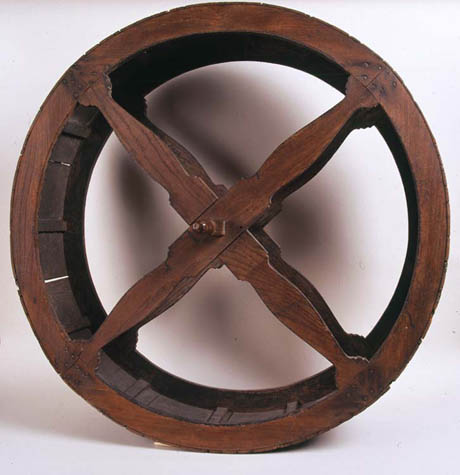 Turnspit wheel 460
