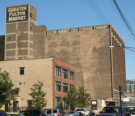 Ordinaire IMAGE: Fulton Market Cold Storage Company. Photo By Brule Laker.