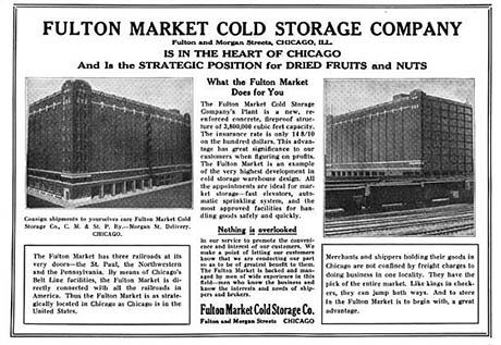 Fulton Market Cold Storage Company Ad 460