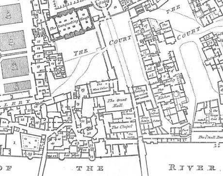 Plan of Whitehall 460