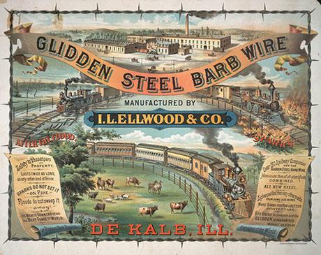 Glidden Barb Wire ad 460