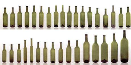Redesigning the wine bottle an interview with luke jerram for Interesting bottle shapes
