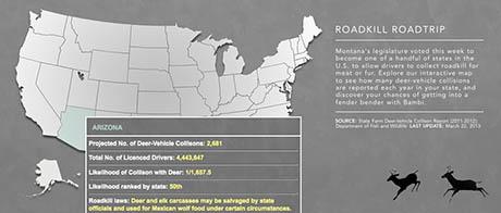 Map Arizona 460