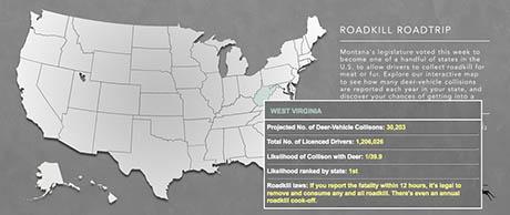 Map West Virginia 460