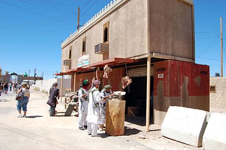 51 Selling meat in Afghanistan 460