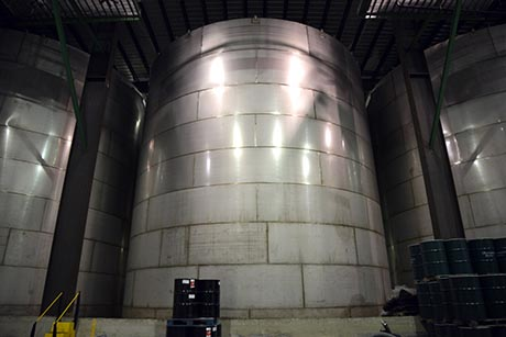 10 Citrosuco Port of Wilmington DE Frozen concentrate tanks