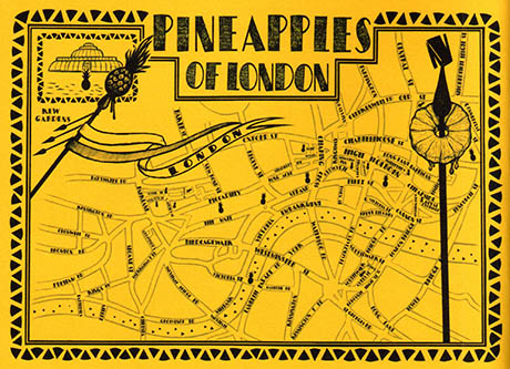 Pineapples of London 460