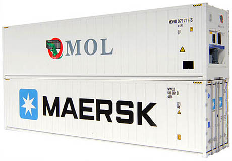 Reefer MOL Maersk 460