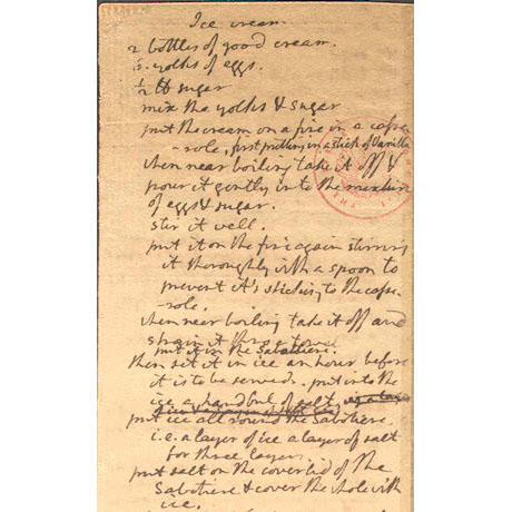 Jeffersons recipe 460