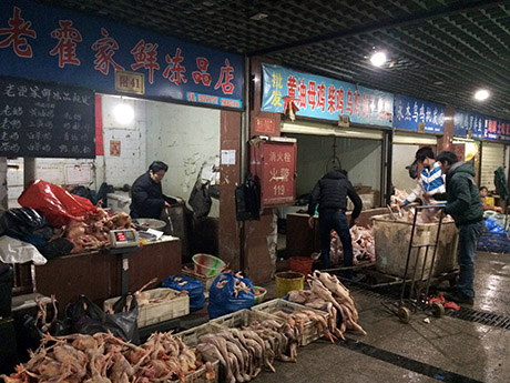 14 Meat aisle wet market