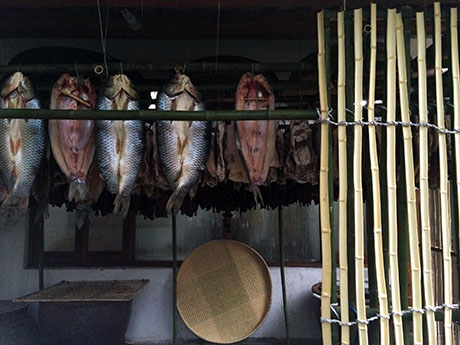 3 Fish drying
