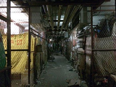 99 Underground cold storage at wet market