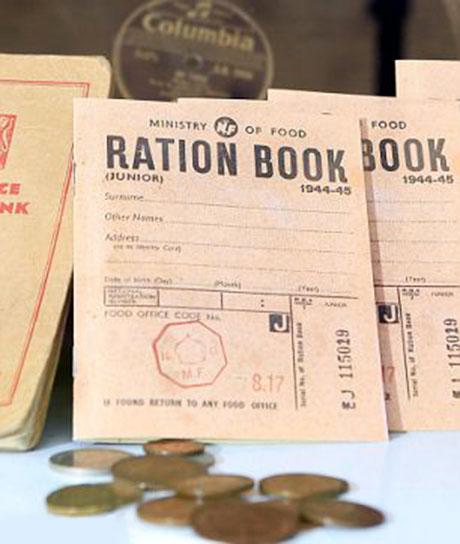 Ration books 460