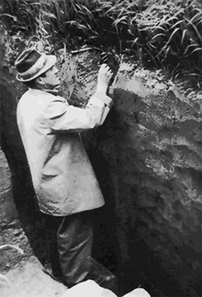 Excavation from Bohm 670