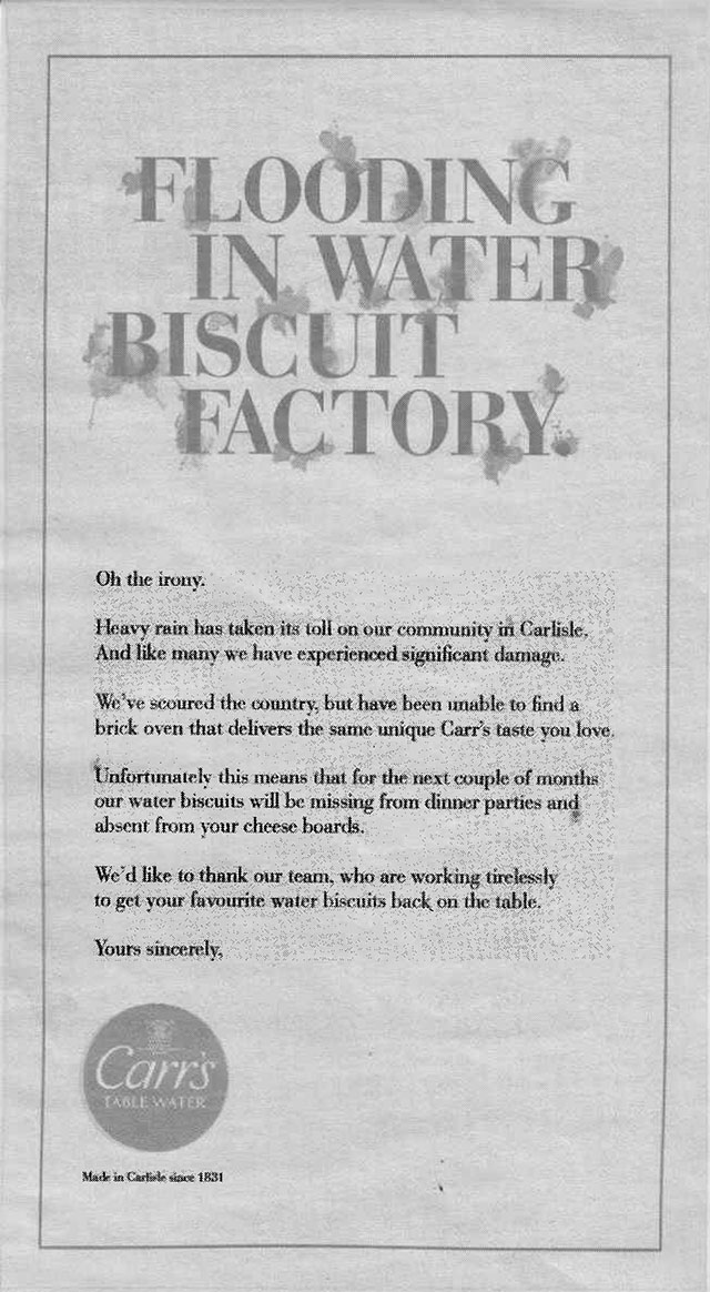 Carrs Water Biscuits